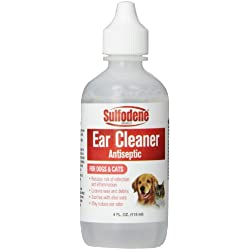 Sulfodene Brand Ear Cleaner Antiseptic for Dogs & Cats, 4 oz
