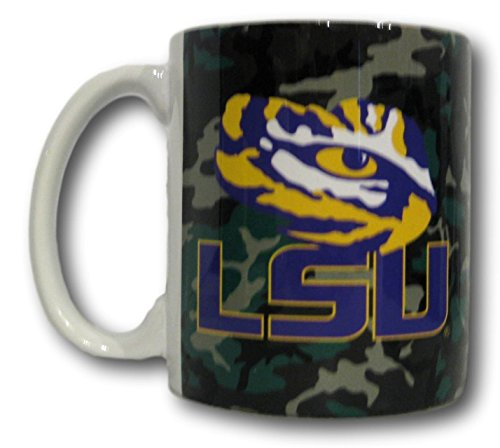 Boelter Louisiana State University LSU Tigers 11 Ounce Camouflage Coffee Mug
