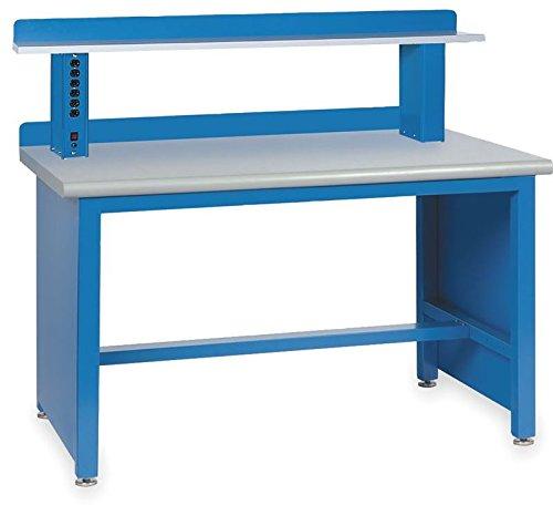 Lista International XSTB11-60PT/BB-IRS Technical Workbench, Includes Riser Shelf, 60