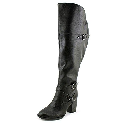 Indigo Rd. LEANA- WC, Fashion Stiefel Frauen, Runder Zeh Black LL