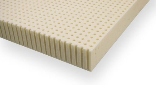 "Ultimate Dreams Full 3"" Talalay Latex Medium Mattress Topper"
