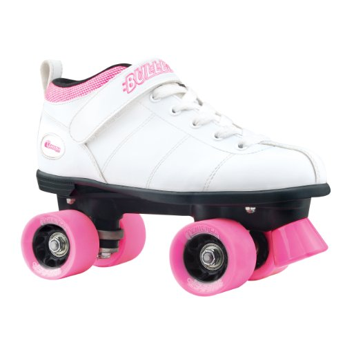 Chicago Bullet Ladies Speed Roller Skate –White Size 8 (Adult Roller Skates)