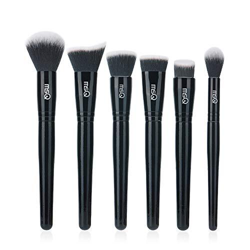 Amazon.com: MSQ Juego de 7 brochas de maquillaje profesional ...