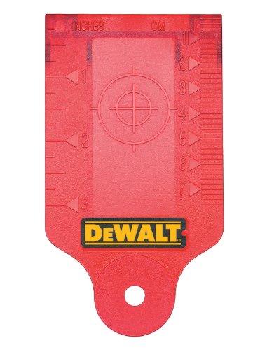 Laser Enhancement Glasses - DEWALT DW0730 Laser Target Card