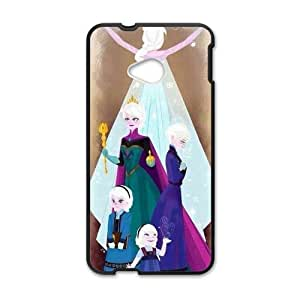 RHGGB Frozen Princess Elsa and Anna Cell Phone Case for HTC One M7