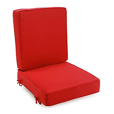 Coral Coast Classic Hinged Outdoor Deep Seating Cushion