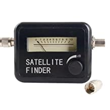 Satellite Finder Signal Meter for SAT DISH LNB DirecTV