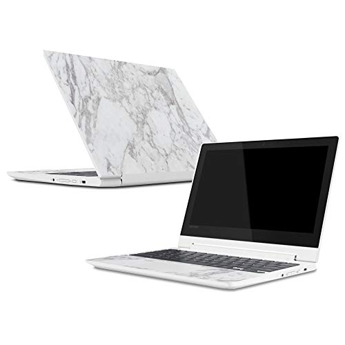 Mightyskins Skin Compatible with Lenovo Chromebook C330 (2018) - Frost Marble   Protective, Durable, and Unique Vinyl Decal Wrap Cover   Easy to Apply, Remove, and Change Styles   Made in The USA from MightySkins
