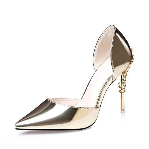 C Personnalité Ladies' De Shoes La Flyrcx Métal Et Heels Talons High Sexy Party Élégant qtgfwxSO