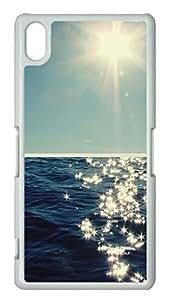 Sony Xperia Z2 Case PC Customized Unique Print Design Beauty Of The Sea 2 Case Cover For Sony Xperia Z2