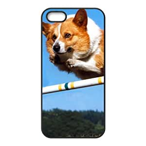 Fashion dog Personalized iPhone 5 5S Rubber Silicone Case Cover