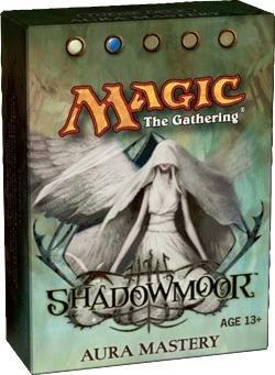 Magic The Gathering 10th Edition Decks - Magic the Gathering: 10th Edition MTG - Shadowmoor - Theme Deck - Aura Mastery