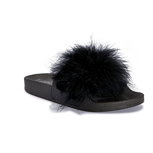 Mizzshuzz - Zapatos con tacón mujer negro