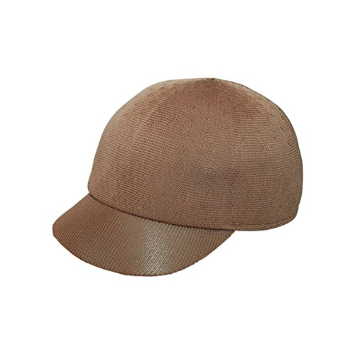[Hats & Caps Shop Polyster Knit Jockey Cap - By TheTargetBuys | (TAN)] (Pork Pie Hat For Sale)