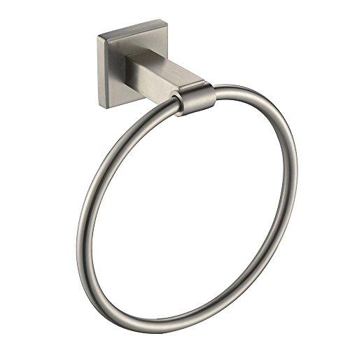 Angle Simple GB7910B Bathroom Towel Ring Towel Holder, Brush