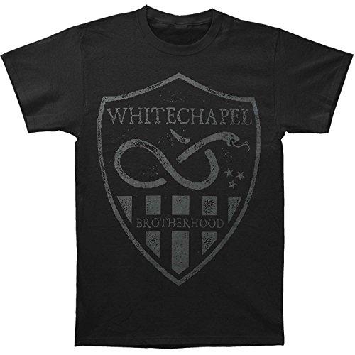 Whitechapel Men's Python T-shirt Large Black