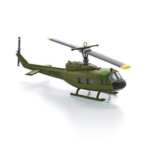 Bell-Huey UH-1D Helicopter 2013 Hallmark Ornament for sale  Delivered anywhere in USA