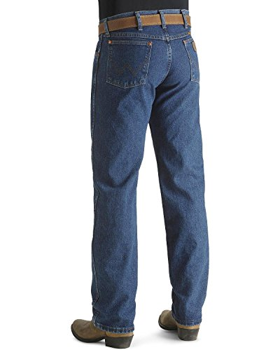 Wrangler Men's Tall Cowboy Cut Original Fit Jean, Stonewashed, 46x34