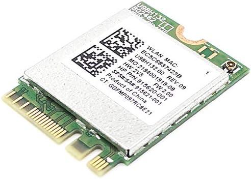 Vaorwne RTL8821CE 802.11AC 1X1 Wi-Fi+BT 4.2 Combo Card SPS 915621-001 Network Card for ProBook 450 G5 PB430G5 Series