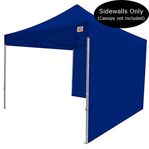 Impact Canopy 10 x 10 Canopy 2 Sidewalls, Outdoor Gazebo Canopy Replacement Walls Only, Royal Blue by Impact Canopy