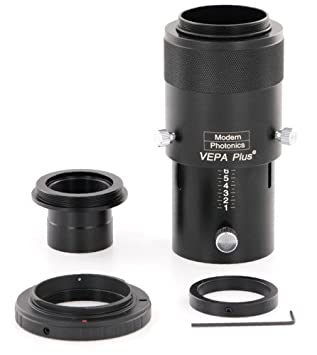 Premium Telescope Camera Adapter Kit for Canon EOS & Rebel by Modern  Photonics