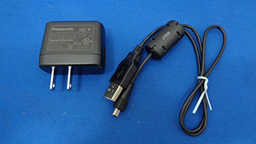 GENUINE Panasonic VSK0768 AC Adaptor with K1HY08YY0025 USB Cable For - Panasonic Cable