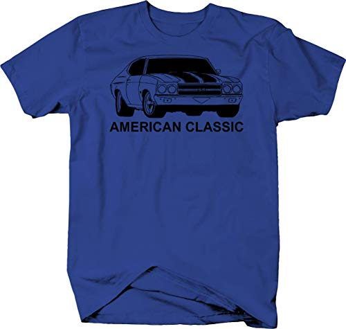American Classic Chevy Chevelle Nova Muscle Car V8 SS Tshirt - XLarge