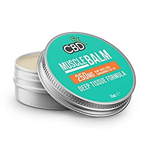 CBDfx Muscle CBD Balm 15ml – 250mg CBD Oil, ...