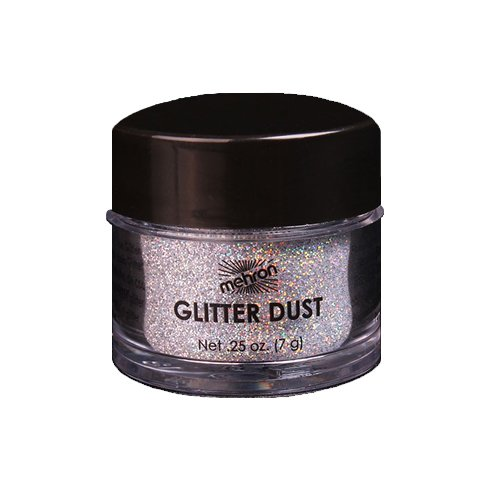(3 Pack) mehron GlitterDust - Holographic Silver