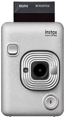 Instax Mini Liplay Hybrid Instant Camera – Stone White