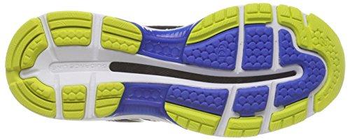 Asics Gel-Nimbus 20, Scarpe Running Uomo Multicolore (Black/Sulphur Spring/Victoria Blue)