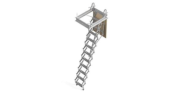 Mister Step Escalera escamoteable para buhardillas ADJ (80 x 45 cm.): Amazon.es: Bricolaje y herramientas