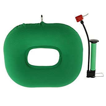 Amazon.com: Magideal cómodo Donut hinchable cojín de silla ...