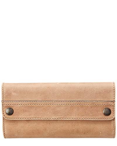 - FRYE Melissa Continental Snap Wallet, Beige