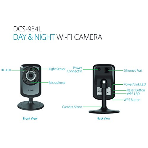 2-PACK D-Link Wireless Day Night WiFi IP Security Camera & Remote View DCS-934L