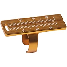 Endo Measuring Ring, Aluminium Endodontic File Ruler Dental Root Canal Measurement Instrument