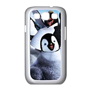 Happy-Feet Samsung Galaxy S3 9300 Cell Phone Case White Fiozt