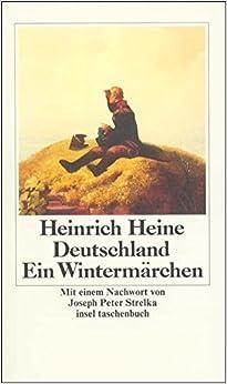 Book Deutschland Ein Wintermarchen by Heine Heinrich (1999-09-01)