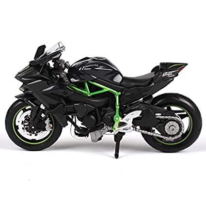 Amazon.com: GreenSun 1:18 Kawasaki Ninja H2R H2 R Motorcycle ...