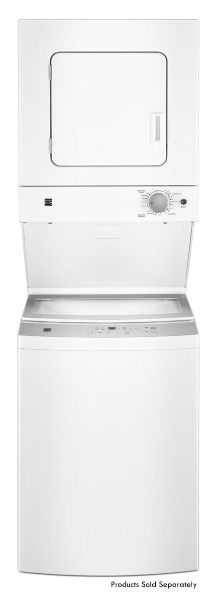 Kenmore 71732 3.9 cu ft Top Load Laundry Center with Agitator and Gas Dryer in White, includes delivery and hookup Sears Home Services - water filters