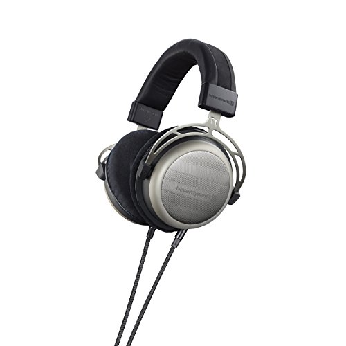 beyerdynamic T1 2nd Generation Audiophile Stereo Headphones with Dynamic Semi-Open Design (Silver) (Headphone Ultrasone Silver)