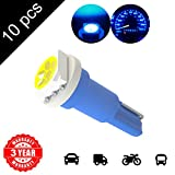 LED Monster 10 x T5 1 SMD Blue LED Bulbs Instrument Panel Gauge Cluster Replacement Lamp for Lexus