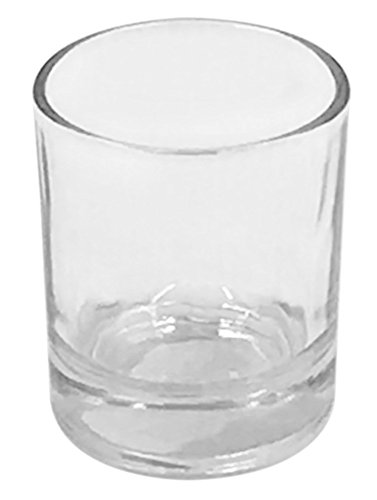 Clear Glass Votive Candle Holder Pack of 12 Cylinder Shape 2½