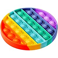 WQFXYZ Pop Push it Sensory Toys Push Sensory Toys can Relieve Stress. Special Multi Shaped Toys Suitable for All Ages…