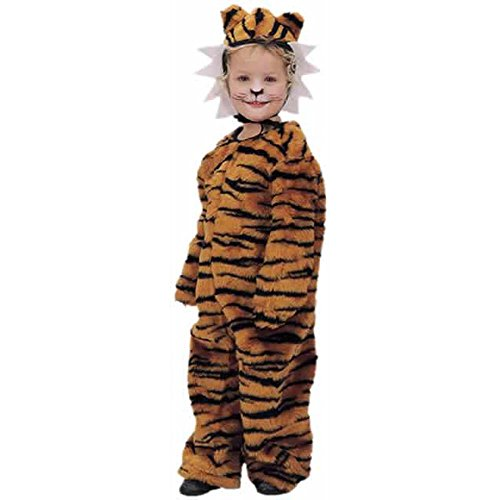 [Childs Toddler Plush Tiger Halloween Costume (2-4T)] (Tiger Halloween Costumes)
