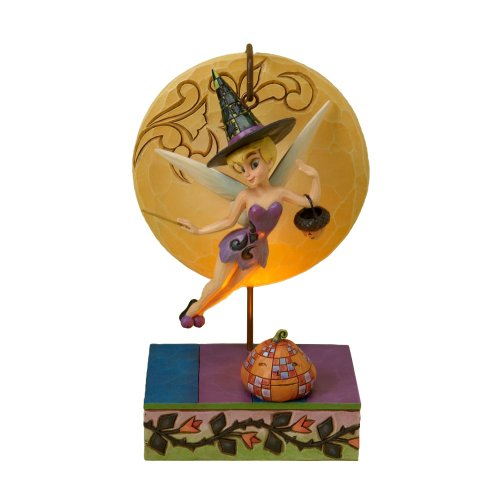 Enesco Disney Traditions Designed by Jim Shore Tinker Bell Witch Figurine 7.25 in