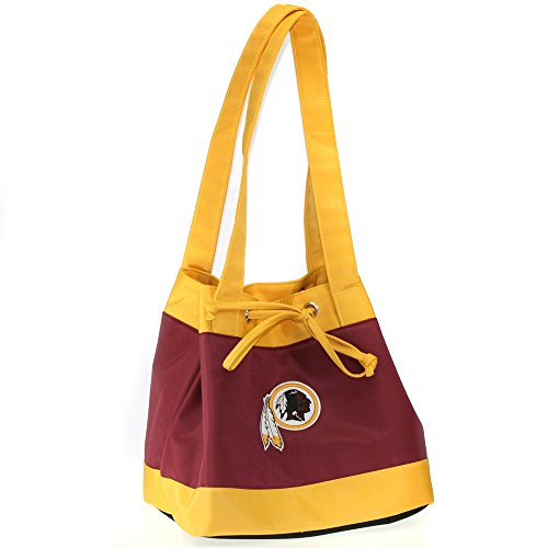 Charm14 NFL Washington Redskins Fashion Lunch Bag with Embroidered Logo (Nfl Fashion)