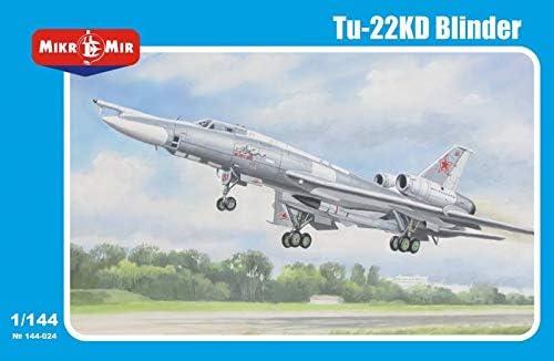 ミクロミル 1/144 ソ連空軍 Tu-22KD ブラインダー ミサイル爆撃機 プラモデル MKR144-024