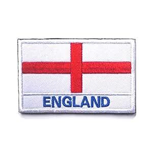 Bandera brazalete exterior banderas bandera parche bordado brazalete chic países bandera magia brazalete pegatinas parches (Inglaterra) 1 pieza