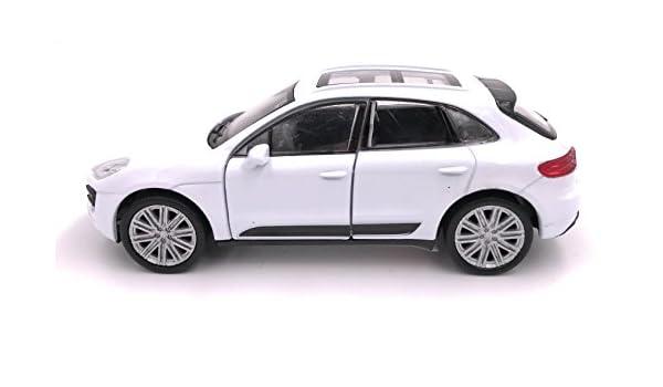 Producto de licencia de automóvil modelo de SUV Welly Porsche Macan 1: 34-1: 39 blanco: Amazon.es: Coche y moto